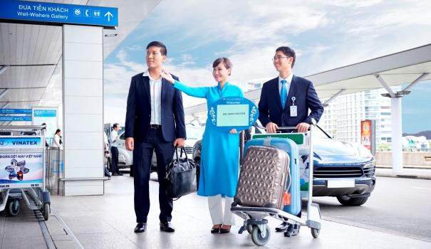 Dịch vụ đón tiếp khách tại sân bay