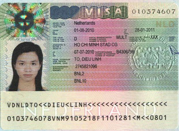 Làm Visa đi Hà Lan