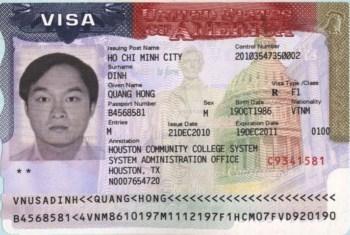 Làm Visa đi Mỹ