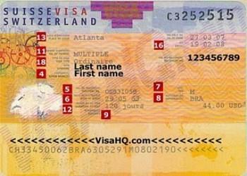 Làm Visa đi Thụy Sỹ