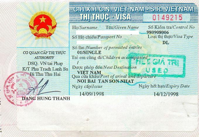 Thị thực (Visa) là gì?