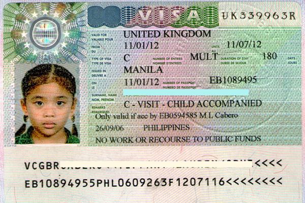 Làm Visa đi Anh