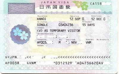 Làm Visa đi Nhật Bản
