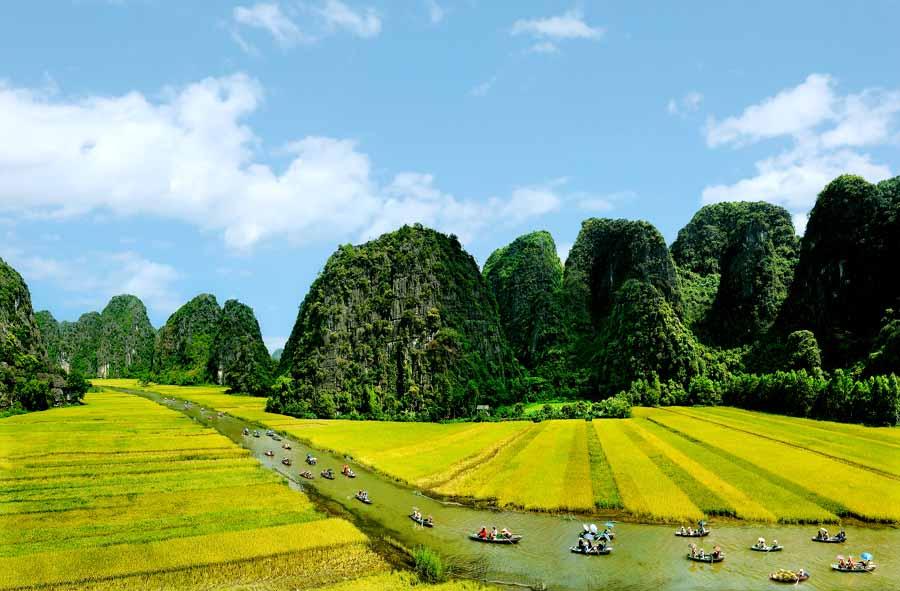 Tour Hà Nội- Hoa Lư- Tam Cốc- Hà Nội